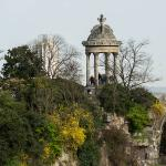 Balade exploration Buttes Chaumont avril 2018